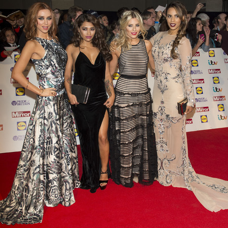 Pride of Britain Awards 2013 The Saturdays, Una Healy, Vanessa White, Mollie King, Rochelle Humes