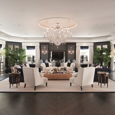 The luxurious formal reception and ballroom in House 20, Cornwall Terrace, London - interiors - handbag.com