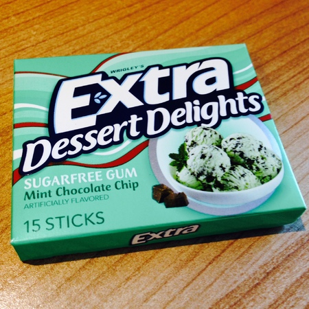 Wrigley's Extra Dessert Delights mint chocolate chip - campaign to bring to UK - food and drink - handbag.com