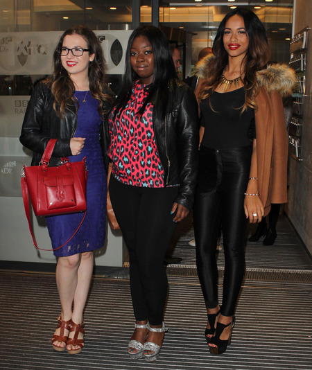 tamera foster - nicole scherzinger girls - x factor 2013 - handbag.com
