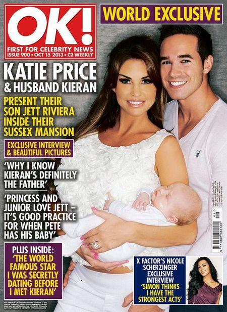 Katie Price OK! Magazine