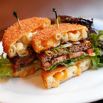 Can you handle the mac 'n' cheese burger?