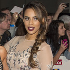 Rochelle Humes getting ready to waltz?