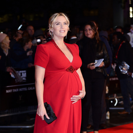 Kate Winslet and son, Bear Winslet.