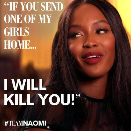 She's fierce, terrifying & totally intimidating. Just a few reasons to love Naomi Campbell...