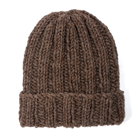 Exclusive! Free beginner beanie hat knitting pattern from The Toft