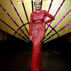 Helen Mirren. Rocking D&G lace better than Rita Ora?