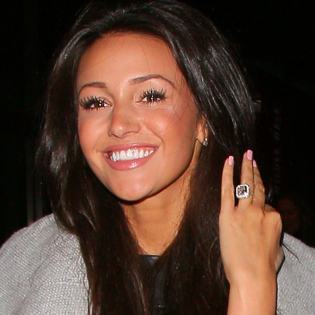 michelle keegan - mark wright - engagement ring - handbag.com