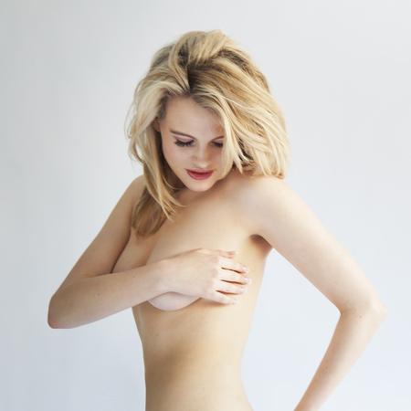naked women - boobs - handbag
