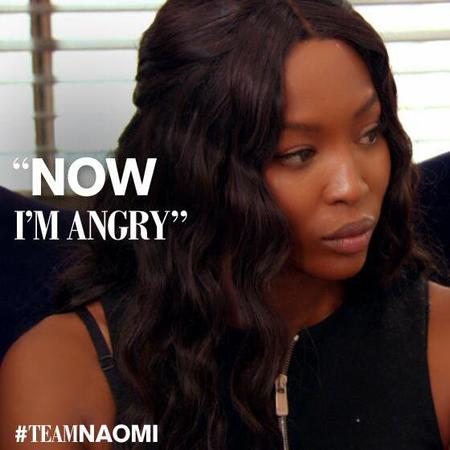Naomi Campbell - now I'm angry - The Face quotes - handbag.com