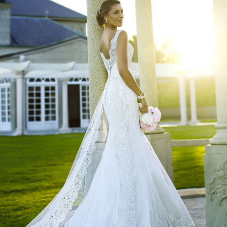 Wedding dress by from Stella York - weddings -handbag.com