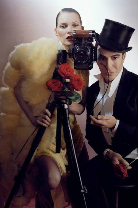 BEST KATE MOSS MOMENTS: John Galliano Vogue shoot