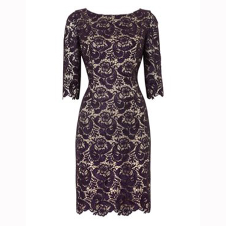 Christmas party dress - lace dress - handbag.com