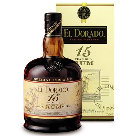 15 Year Old El Dorado Rum (70cl) - food and drink - handbag.com