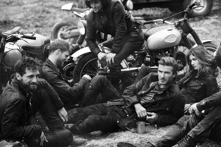 David Beckham new Belstaff advert