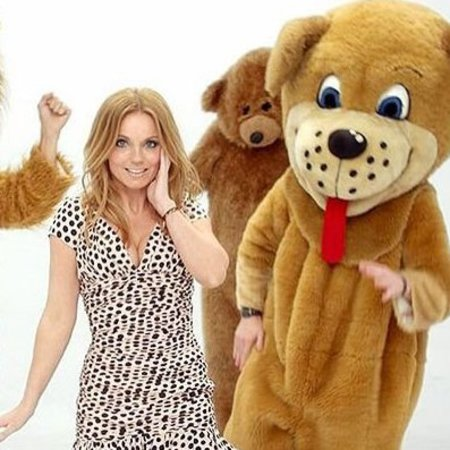 Geri Halliwell half of me single dancing bears