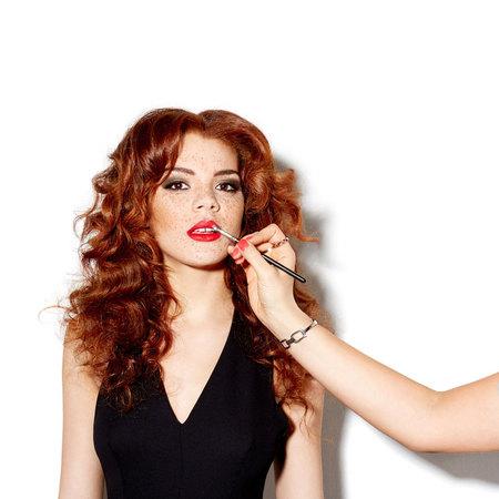 Jade Thompson shoot for Clothes Show Live 2013 - fashion - handbag.com