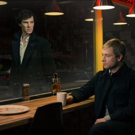 Sherlock series 3 - first look image - benedict cumberbatch