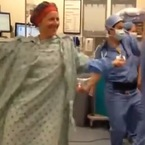 Hero: Woman dances to Beyoncé before double mastectomy