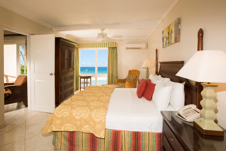 Club Barbados Travel Review - bedroom with sea view - Travel ideas - Handbag.com