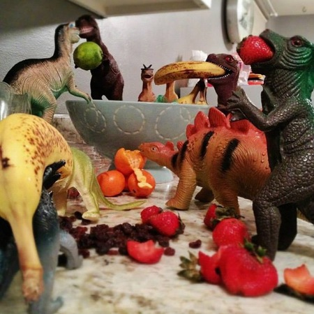Dinovember viral internet photos - hillarious - children's toys - handbag