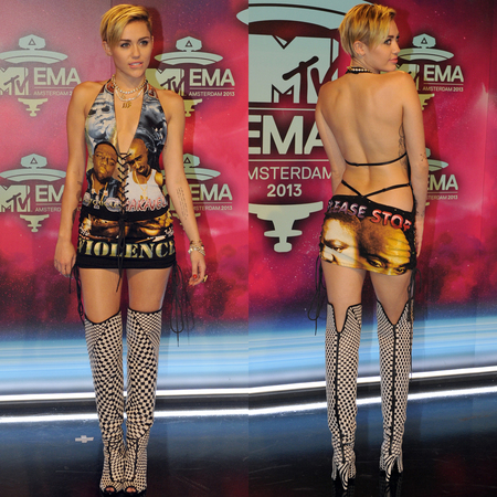 Miley Cyrus most shocking outfits