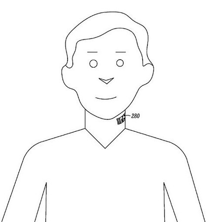 Motorola neck patent tattoo
