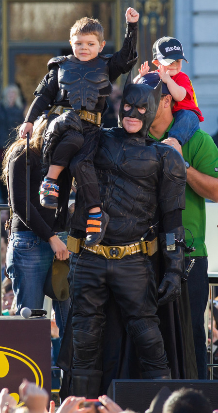 miles scott becomes batkid - make a wish superhero - handbag.com