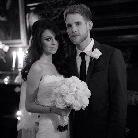 Cher Lloyd gets married - celebrity wedding pictures - wedding news - handbag.com