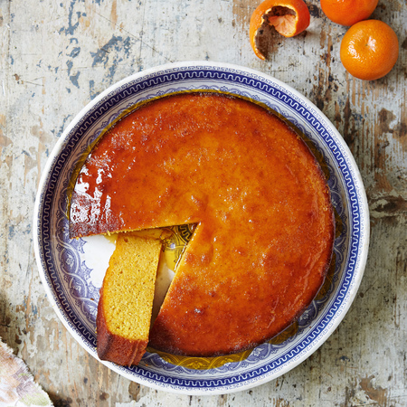 Great British Bake Off sticky Clementine cake recipe - food and drink - handbag