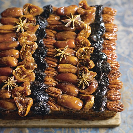 Fig, port and star anise Christmas cake recipe - baking recipes - Christmas recipes - cooking - food news - handbag.com