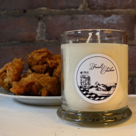 KFC Kentucky Fried chicken scented candle - weirdest scented candles - food and drink - handbag.com