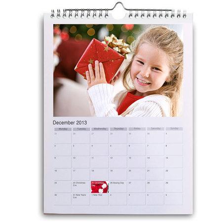 Photobox personalised calendar