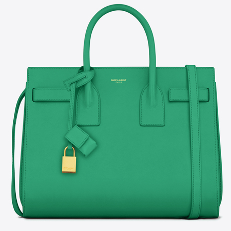 Saint Laurent Sac De Jour, Green