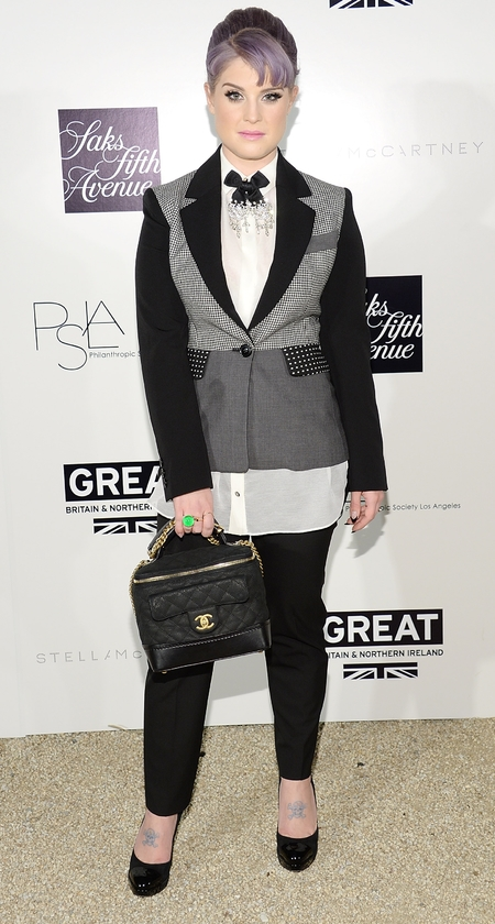 Masculine Fashion Trend Kelly Osbourne
