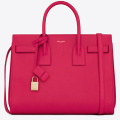 saint laurent Sac De Jour bag - new yves saint laurent handbag - ysl - red leather bag - handbag.com