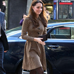 Kate Middleton on how to wear brown