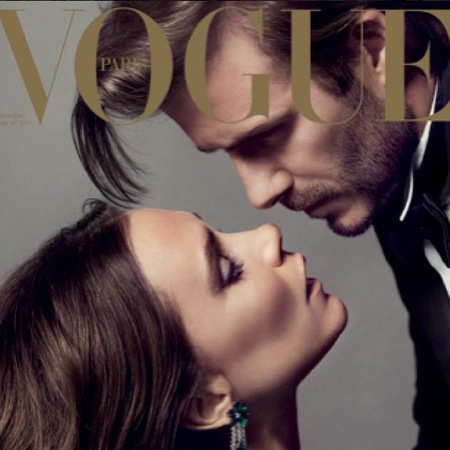 david and victoria beckham kissing - vogue cover - celebrity couples.jpg