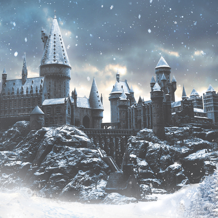 hogwarts in the snow - warner bros studio - harry potter - christmas days out for adults and children - handbag.com