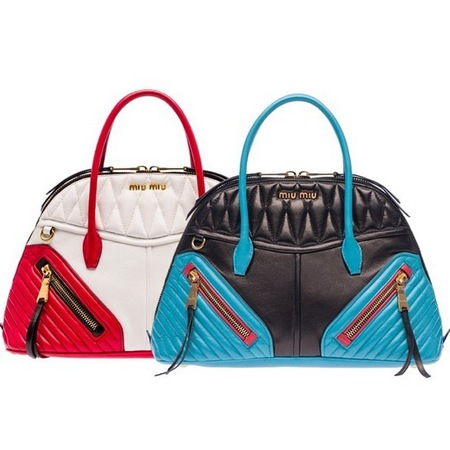 handbag in red white and blue leather handbags for 2014 handbag trends