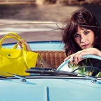 Alexa Chung takes the driving seat at Longchamp