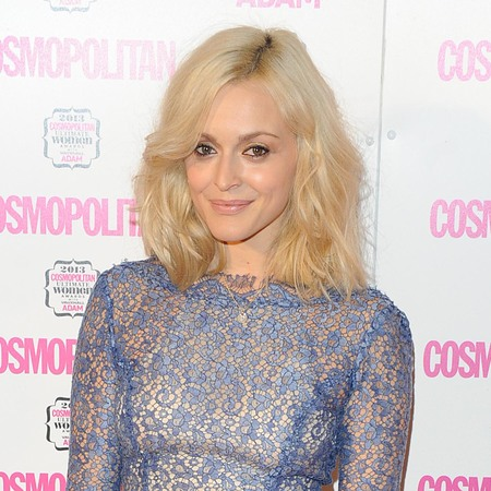 Fearne Cotton wears nude lipstick