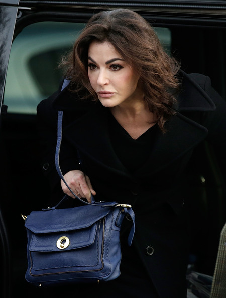 Nigella Lawson - court case - topshop handbag - navy blue satchel - where's her bag from - handbag.com