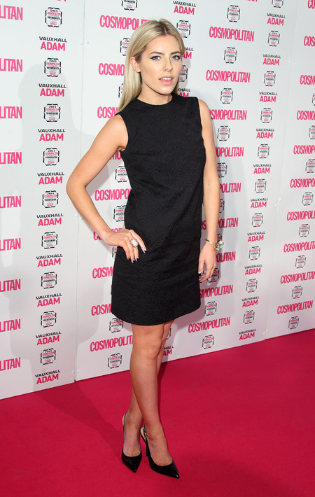 Mollie King - cosmo awards - boring - fashion - modelling contract made her dull - handbag.com