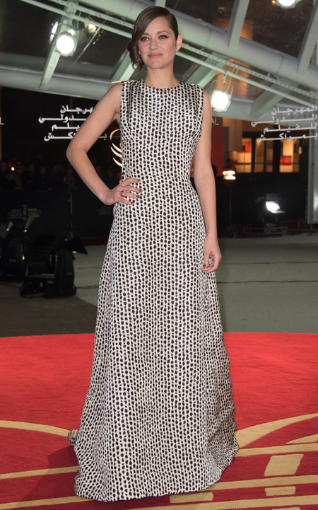 Marion Cotillard - Dior dresses - better than Jennifer Lawrence - celebrity fashion news - handbag.com