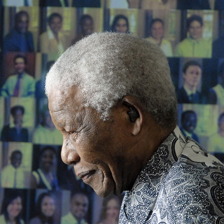 Former South African president and Nobel peace prize laureate Nelson Mandela is pictured at his home in Cape Town on August 20, 2008 to celebrate his 90th birthday year - handbag.com