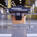 Is it a bird? Is it a plane? NO! It's an Amazon 'Prime Air' Drone