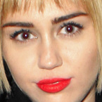 Quick! Miley Cyrus has a mop on her head...oh no wait