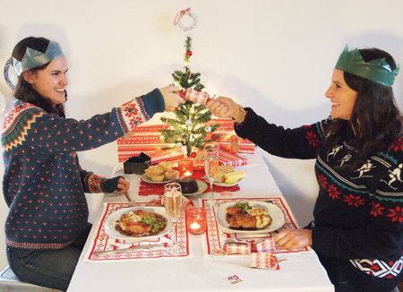 Poundland christmas challenge - christmas dinner for under £30 - friendmas - christmas food - christmas shopping - budget - food news  - handbag.com