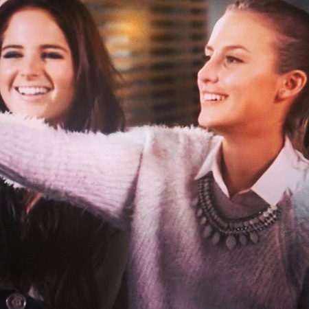lucy watson white fluffy jumper - new look - made in chelsea - handbag.com